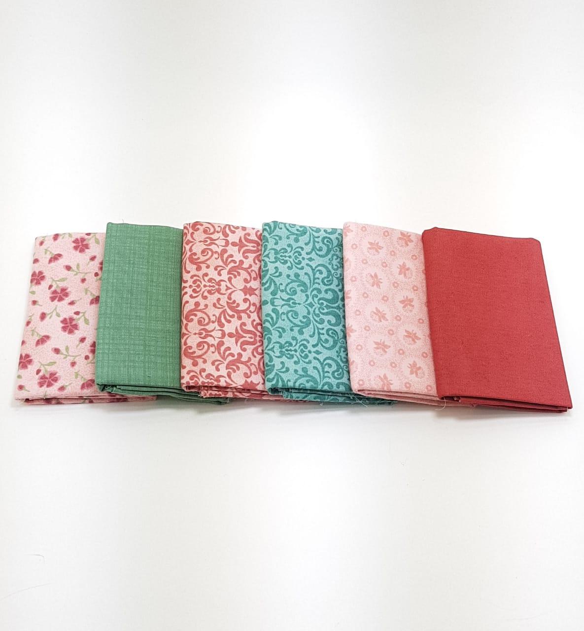 kit flores miúdas / 6 estampas - 0,25cm x 0,75cm (cód: 905)