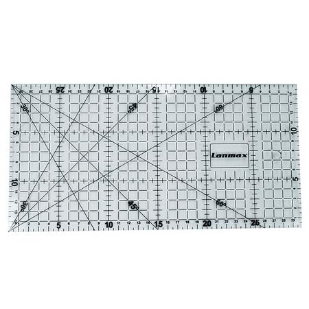 régua acrílica para patchwork lanmax 15x30