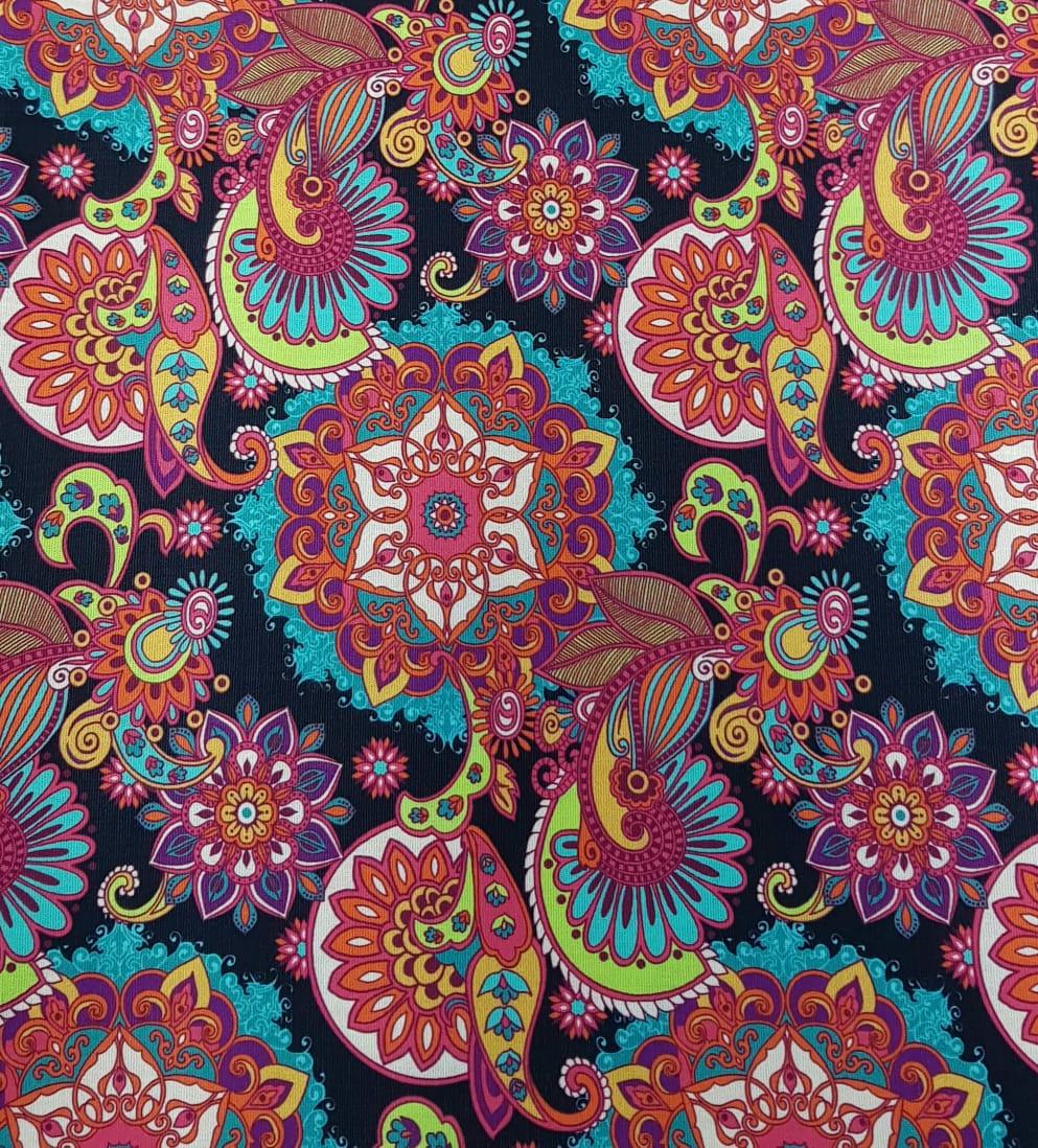 Mandalas cashmere - 25x150cm