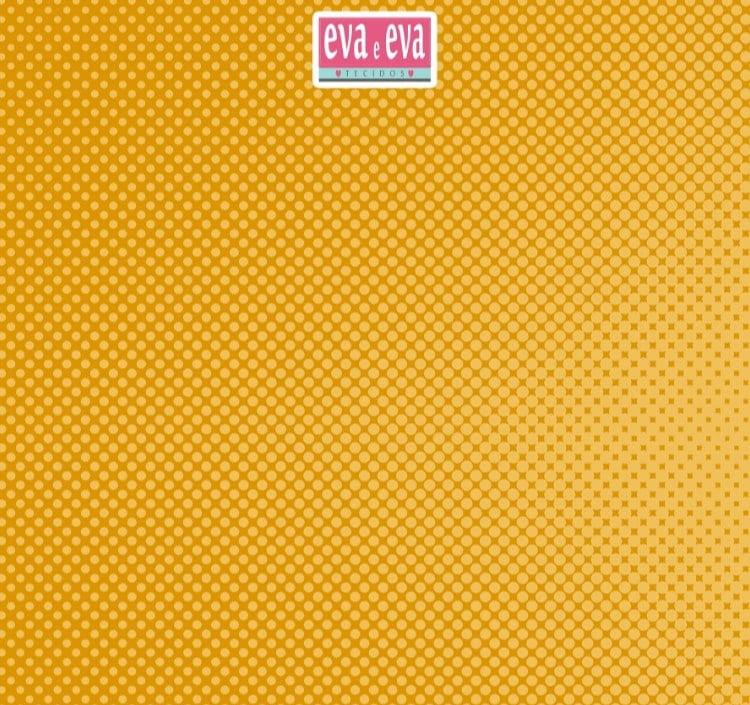 Bolinha amarela em dégradé - 30x150cm