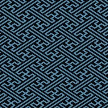 tecido geométrico azul - 0,50cm x 1,50m