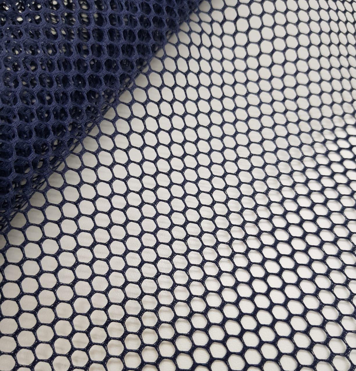 tela volley - azul marinho / 0,50cm x 1,50m