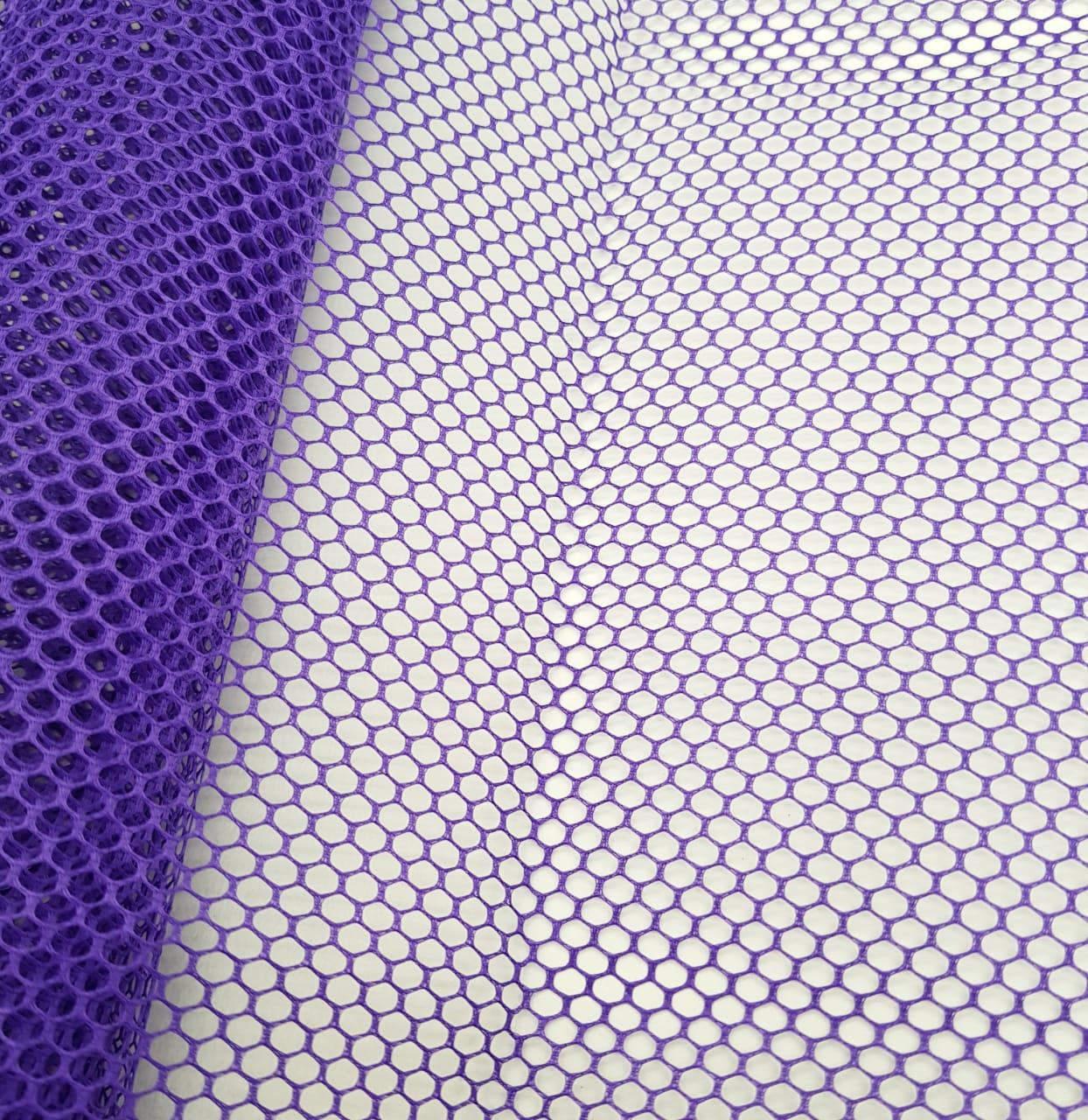 tela volley - roxa / 0,50cm x 1,50m
