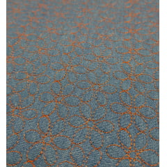Jeans claro matelassado - flores - 0,50cm x 1,50m