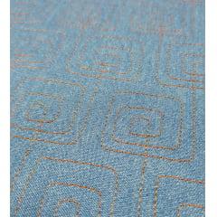 jeans claro matelassado - labirinto - 0,50cm x 1,50m