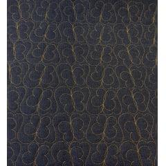 Jeans Matelassado - Borboletas - 0,50cm x 1,50m