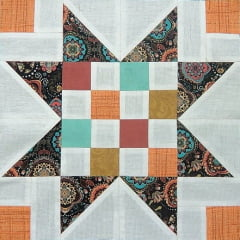 Patchwork - Bloco Color Star