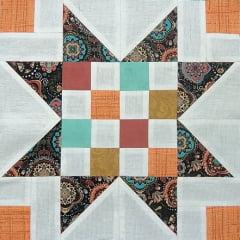 Patchwork - Bloco Color Star