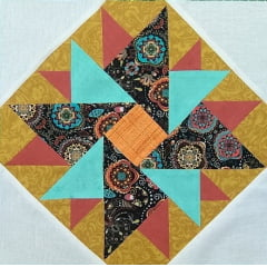Patchwork - Bloco Double Star