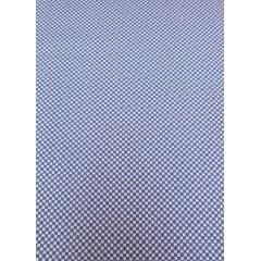 Tecido Nacional - Geo Flower / azul