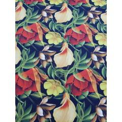 Digital - Floral alamanda / 0,25cm x 1,50m