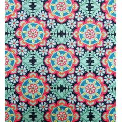 Digital - Mandala c/flores (0,25cm x 1,50m)