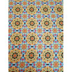 Digital - Mandalas Indi / 0,25cm x 1,50m
