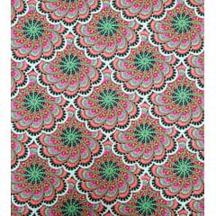 Digital - Mandalas / verde c/preto (0,25cm x 1,50m)