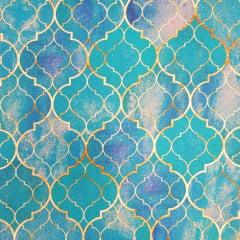 Digital Arabesco Batik - 0,25cm x 1,50m
