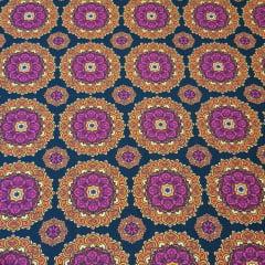 Mandala Shri / fundo preto - 25x150cm