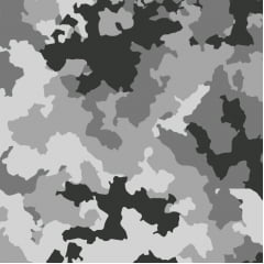 Camuflado gelo - 0,50cm x 1,50m