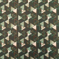 Memphis / fundo verde - 30x150cm