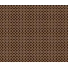 Poá tom tom - marrom café - 0,50cm x 1,50m
