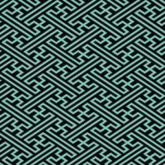 tecido geométrico azul turquesa - 0,50cm x 1,50m