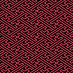 tecido geométrico vermelho - 0,50cm x 1,50m