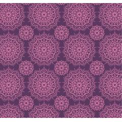 tecido mandalas namastê rosa - 30x150cm