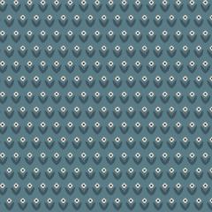 Tiny Blue Flower - 30x150cm