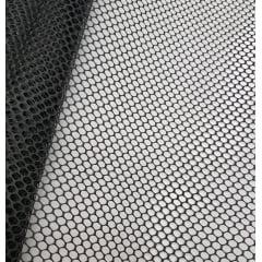 tela volley - preta / 0,50cm x 1,50m