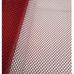 tela volley - vermelha / 0,50cm x 1,50m