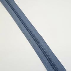 Zíper - ZR - 5mm - Cinza Grafite
