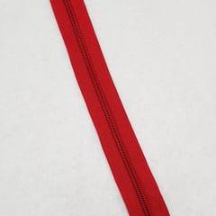 Zíper - ZR - 5mm - Vermelho
