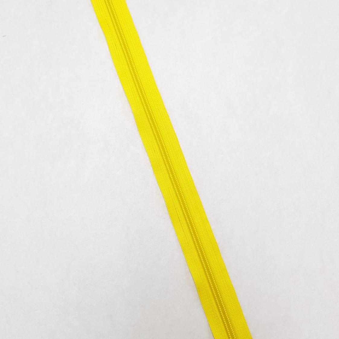 """Zíper - ZR - 5mm - Amarelo """"marca texto"""""""