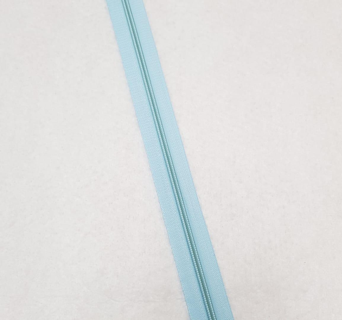 Zíper - ZR - 5mm - Azul claro